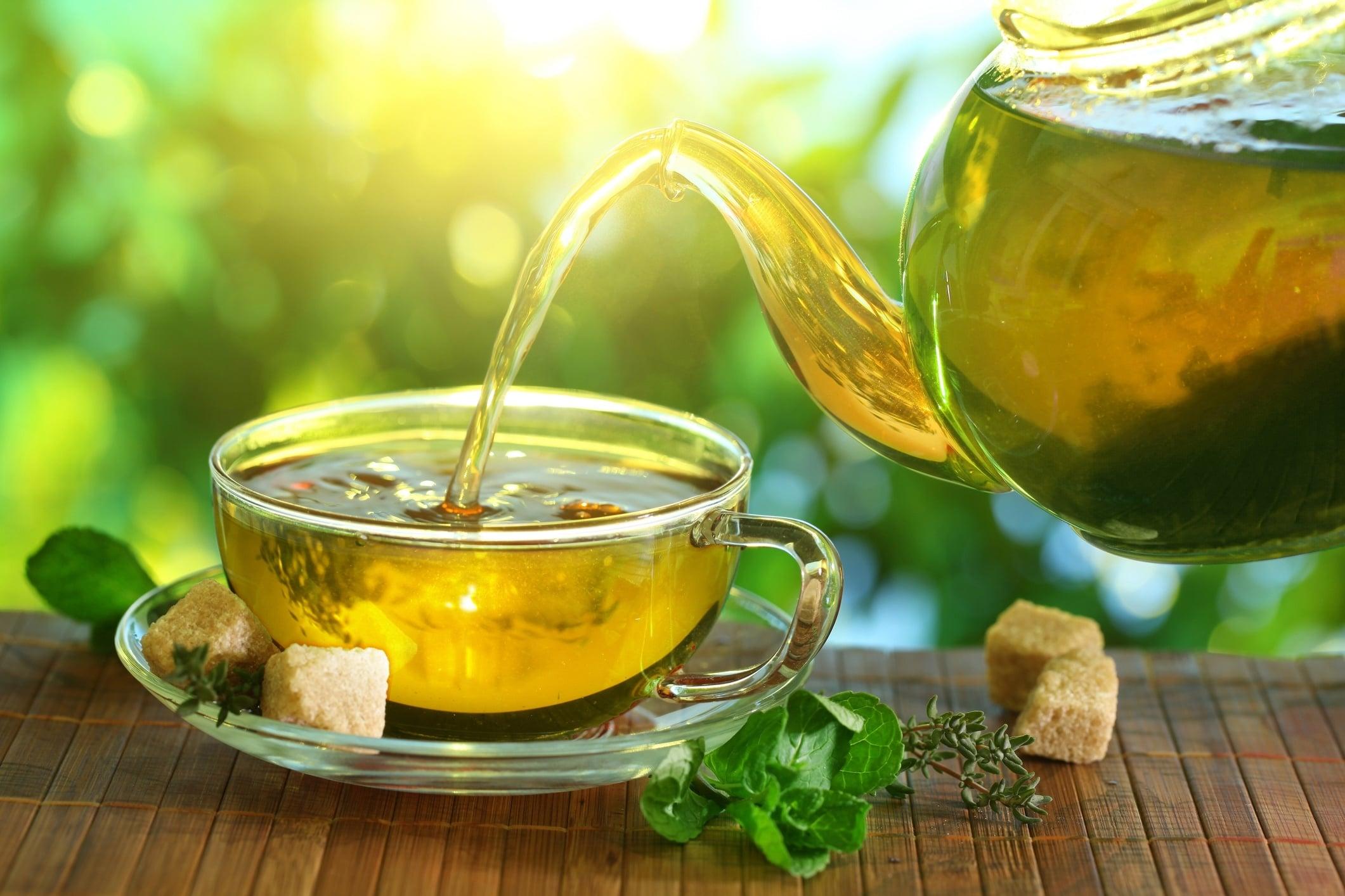 Grønn te er sundt